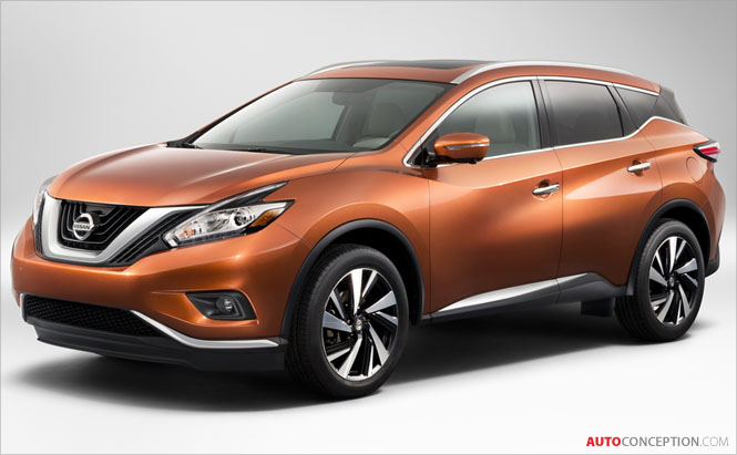 New Nissan Murano to Debut at New York Motor Show