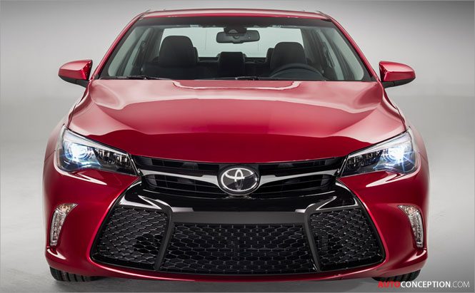Toyota Camry Gets Sweeping Redesign for 2015