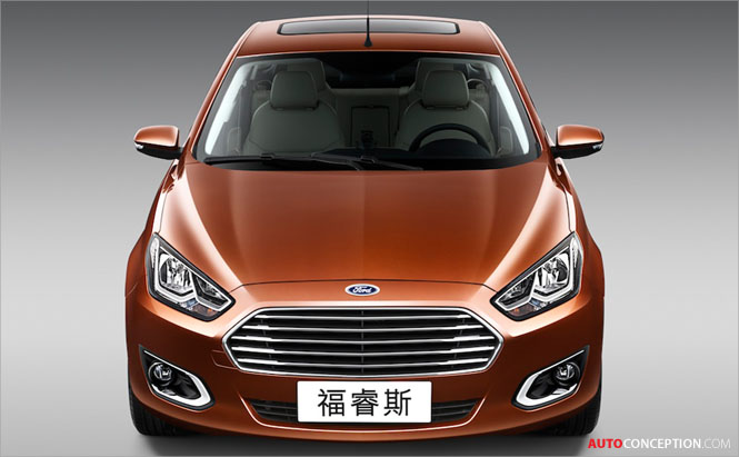 Ford: All-New Escort 'Designed for Chinese Consumers'