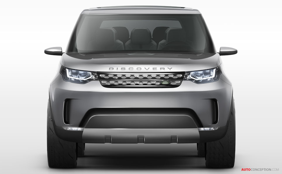 Discovery 'Vision Concept' Revealed Ahead of New York Auto Show