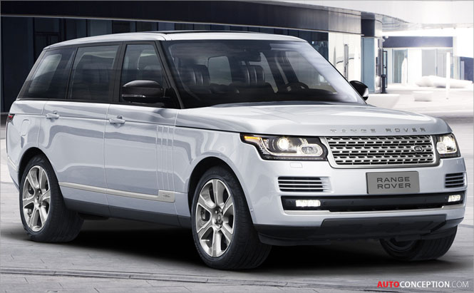 Land Rover Launches Long Wheelbase Range Rover Hybrid in Beijing