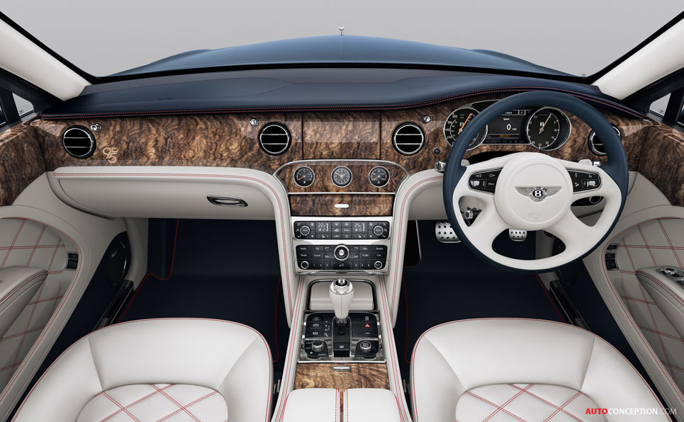 Limited Edition Bentley Mulsanne 95 Revealed