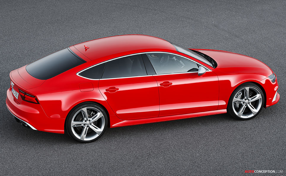 Audi Unveils Facelifted RS7 Sportback