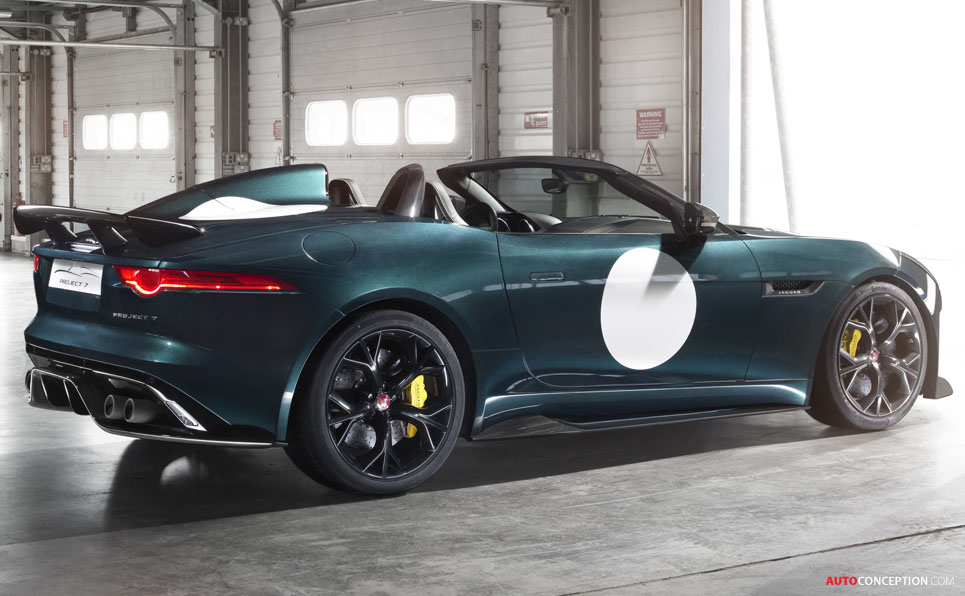 Jaguar F-TYPE Project 7 Unveiled Ahead of Goodwood Debut
