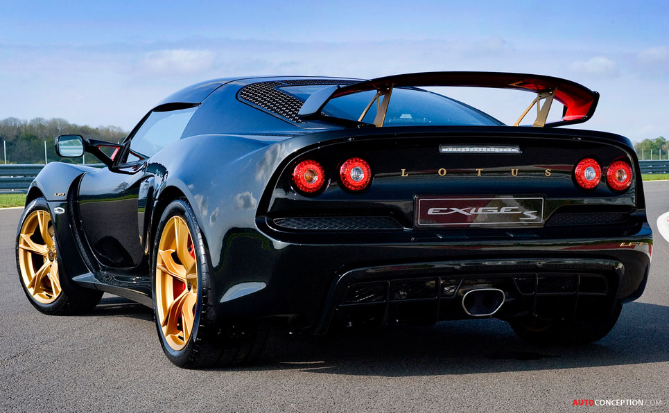 Limited Edition Lotus Exige 'LF1' Gets Formula 1 Styling