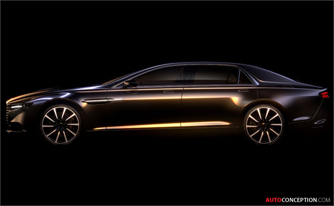 Aston Martin to Revive Lagonda Brand with New Super Saloon