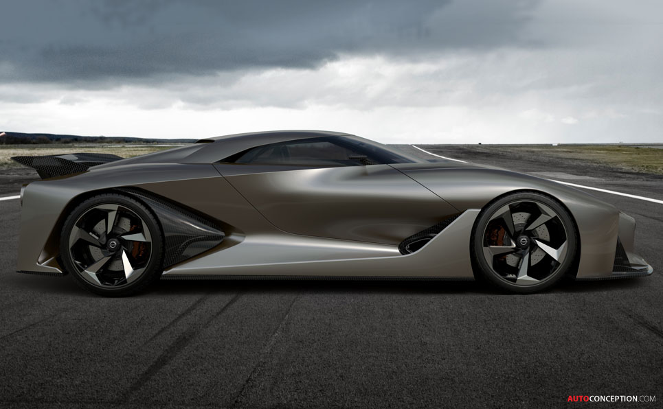 Nissan's Virtual Concept Car Previews Future Design