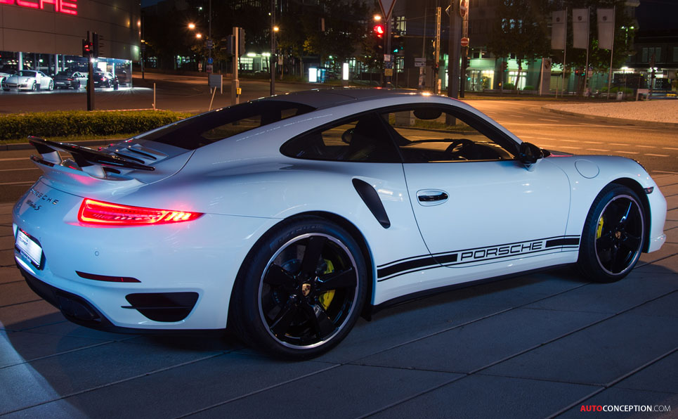 Porsche Reveals 911 Turbo S GB Edition