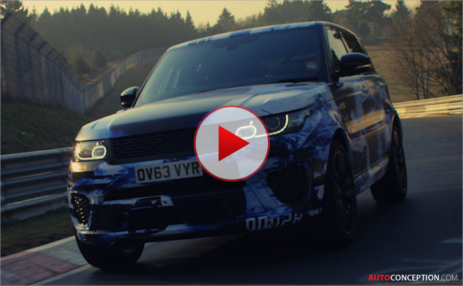 Range Rover Sport SVR Sets Nürburgring Record for SUVs