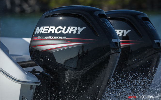 BMW DesignworksUSA Designs Mercury FourStroke Engine