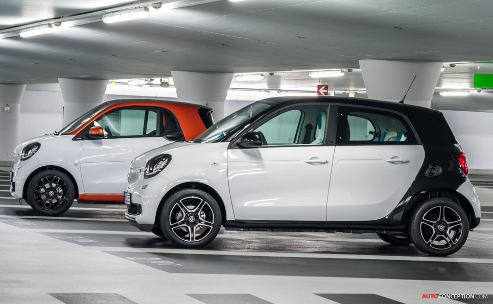 all new smart fortwo and forfour officially revealed. Black Bedroom Furniture Sets. Home Design Ideas