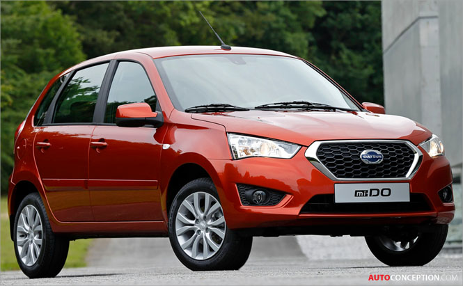 New Datsun 'mi-DO' Debuts in Moscow