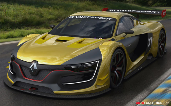 Renault Unveils New R.S. 01 Racing Car