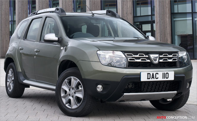 Dacia Reveals Styling Upgrades for 2015 Duster