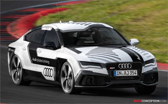 Audi's Self-Driving RS7 Completes Hockenheim Lap