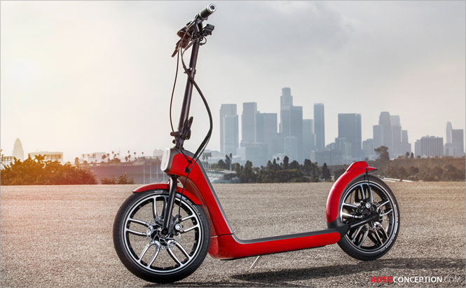 MINI Reveals 'Citysurfer' Scooter Concept