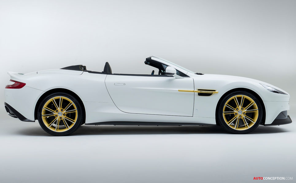limited edition aston martin works 60th anniversary vanquish revealed. Black Bedroom Furniture Sets. Home Design Ideas