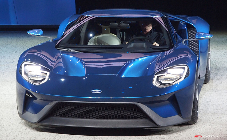 All-New Ford GT Revealed in Detroit