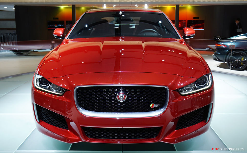 Jaguar XE Named 'Most Beautiful Car of 2014'