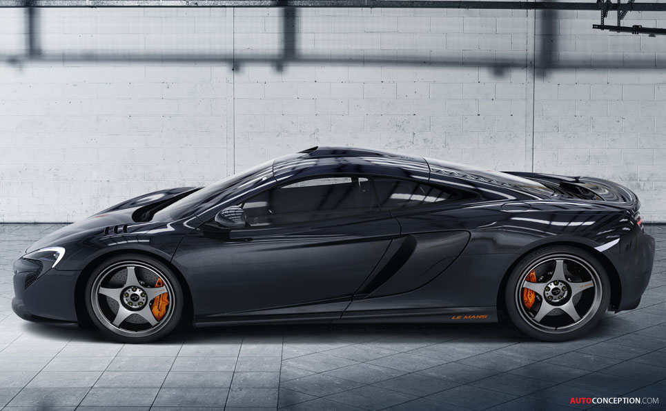 New McLaren 650S Le Mans Special Edition Pays Tribute to F1 GTR