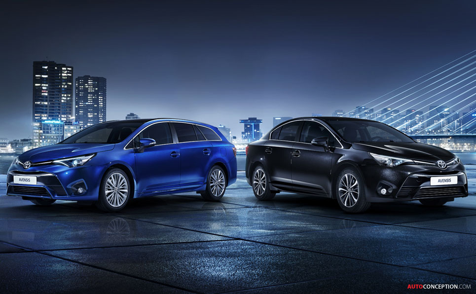 New Toyota Avensis Revealed Ahead of Geneva Debut
