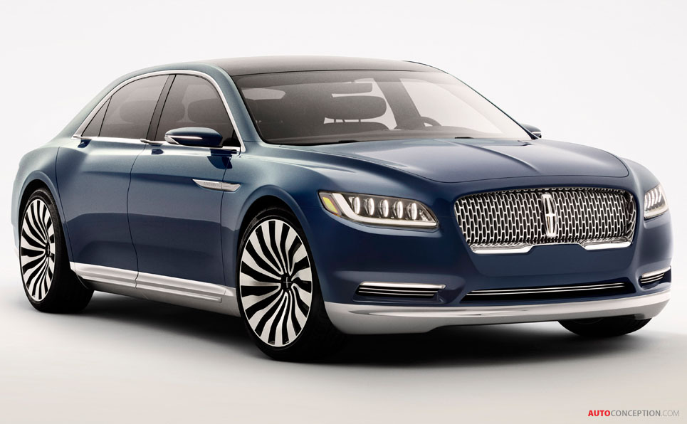 lincoln unveils continental concept ahead of new york motor show. Black Bedroom Furniture Sets. Home Design Ideas