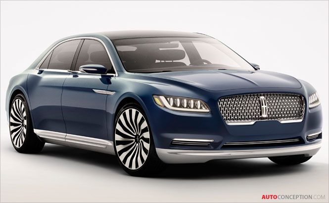 Lincoln Unveils Continental Concept Ahead of New York Motor Show