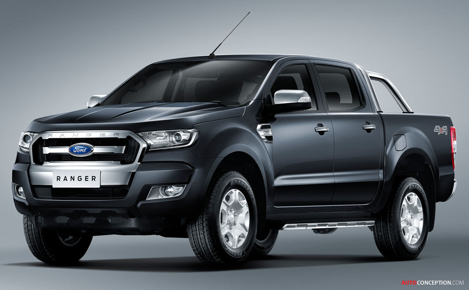 Ford Reveals New Ranger Pickup