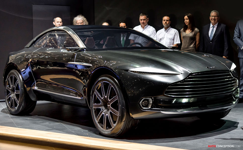 The Fastest Car In The World 2015 >> Aston Martin DBX Concept Previews New Crossover GT - AutoConception.com