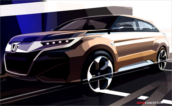 Honda to Unveil All-New Concept SUV at Shanghai Motor Show