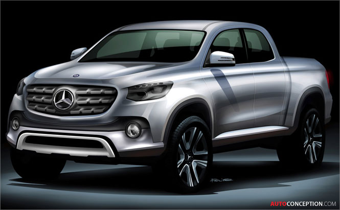 Mercedes-Benz to Launch Midsize Pickup Truck