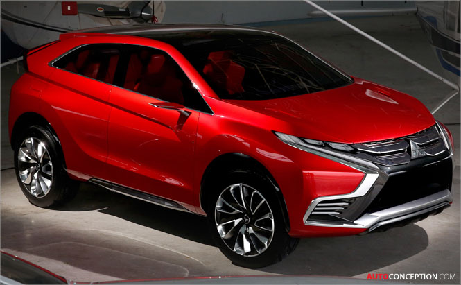 Mitsubishi XR-PHEV II Concept Previews Future Hybrid Crossover