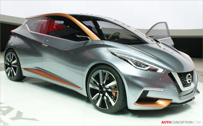 Nissan Sway Concept Unveiled in Geneva