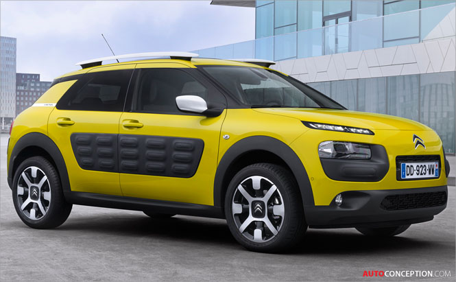 Citroën C4 Cactus Wins '2015 World Car Design of the Year' Award