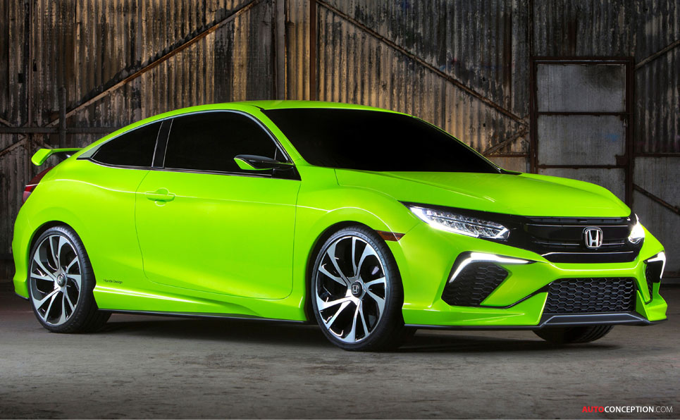 Honda Civic Concept Revealed in New York
