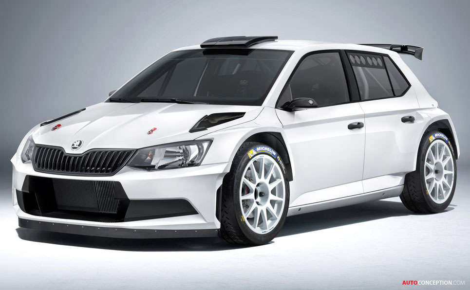 FIA Gives Green Light to New SKODA Fabia R 5