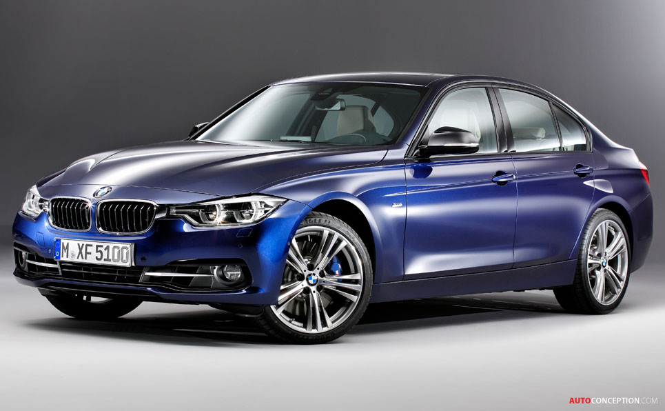 Bmw 3 Series 2015 Facelift 2015 BMW 3 Series Face...