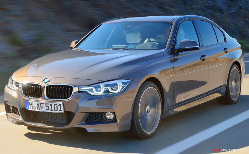 2015 bmw 3 series facelift unveiled. Black Bedroom Furniture Sets. Home Design Ideas