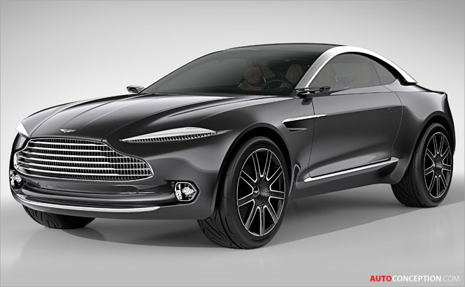 Aston Martin DBX Crossover Concept Set for Production
