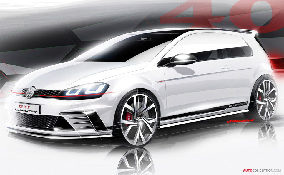 Volkswagen to Pull Wraps Off 'GTI Clubsport' Concept at Wörthersee