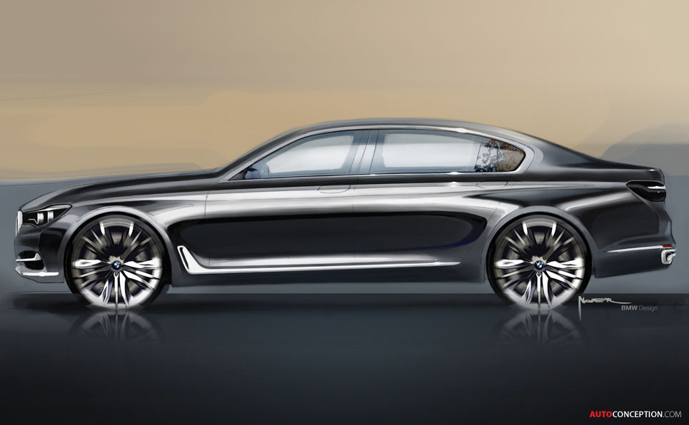 2015 bmw 7 series unveiled. Black Bedroom Furniture Sets. Home Design Ideas