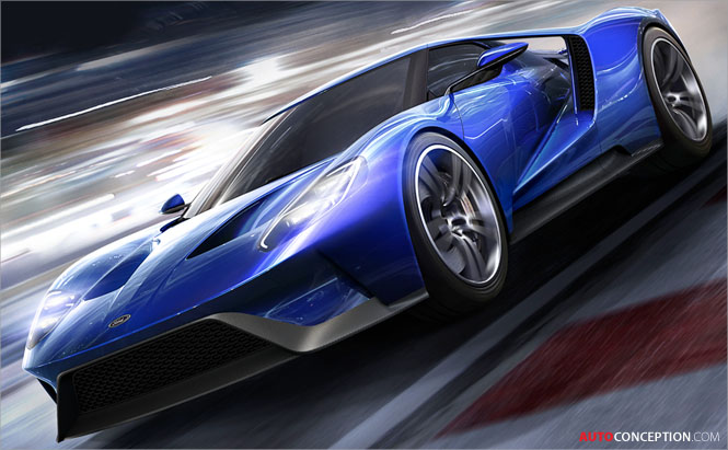 The Fastest Car In The World 2015 >> New Ford GT Chosen as Cover Car for Forza Motorsport 6 ...