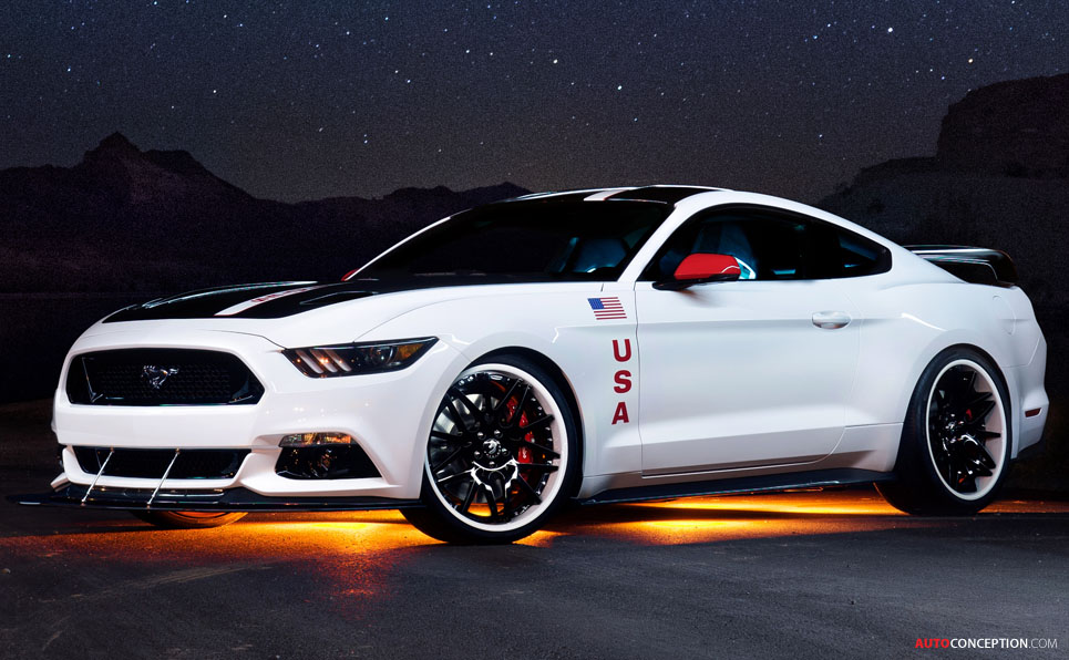 Ford Reveals 'Apollo Edition' Mustang