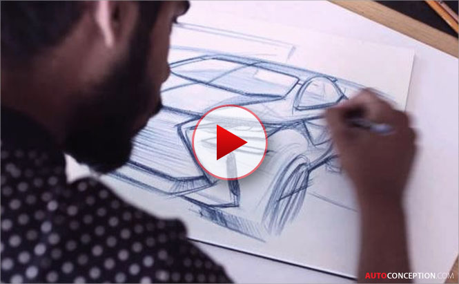 How to Draw a Car – Designing the Lexus LF-SA