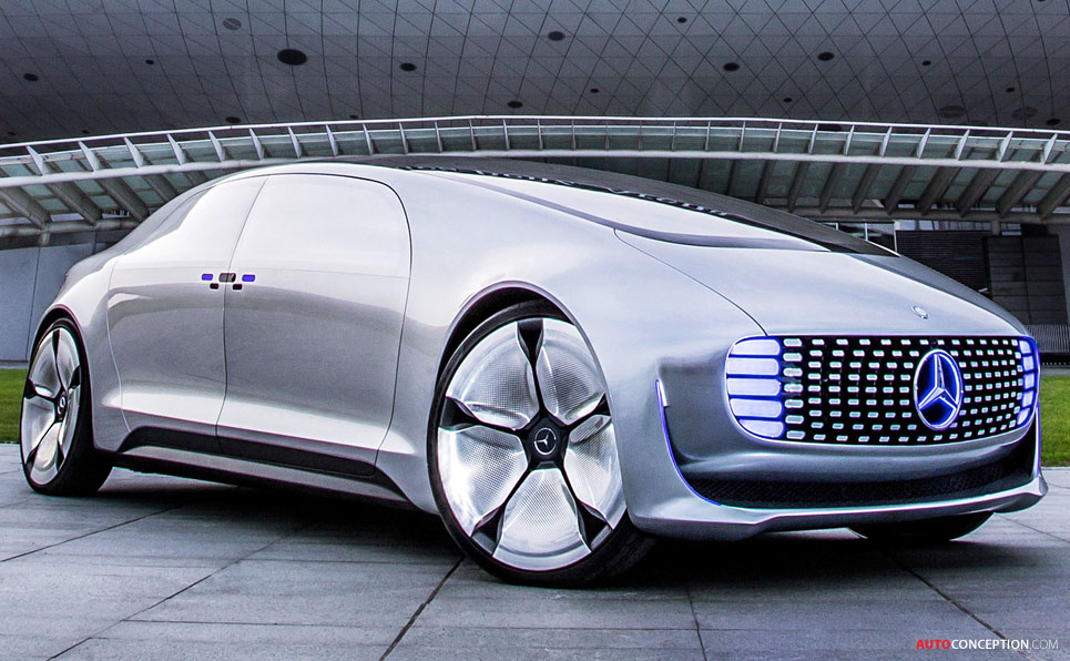 Mercedes F 015 Concept Takes 2015 Concept Car of the Year Award