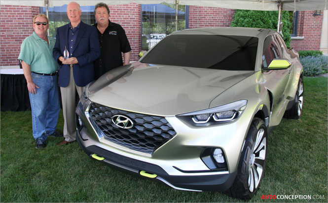 Hyundai Santa Cruz Named 2015 Concept Truck of the Year