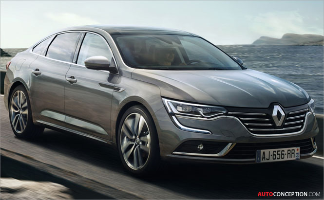 Renault Talisman Unveiled for Europe