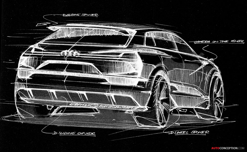 All-Electric Audi SUV Concept Set for Frankfurt Reveal