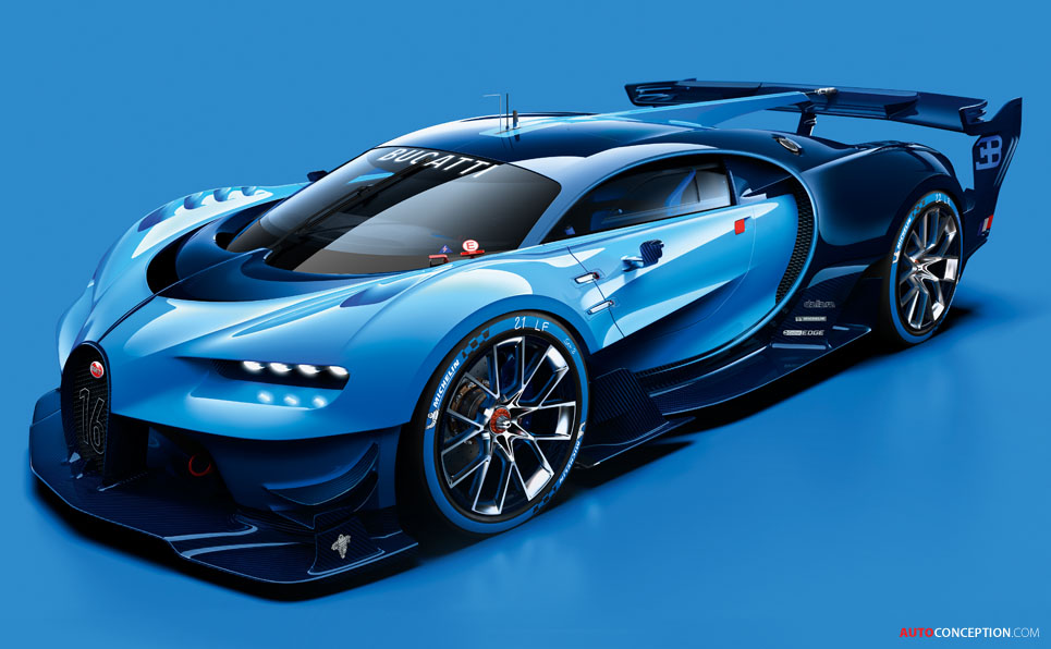 bugatti vision gran turismo concept revealed. Black Bedroom Furniture Sets. Home Design Ideas