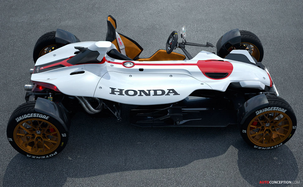 Honda Reveals Single-Seat, MotoGP-Engined Track Car Concept